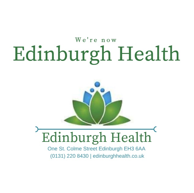we're now Edinburgh Health